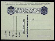 Kingdom of Italy 1941 Postal stationary 100% Fil. F 39 3 mint
