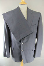 VINTAGE HEPWORTHS HAND CUT WOOL WORSTED SUIT: CHEST 38 INCHES/WAIST 32 INCHES