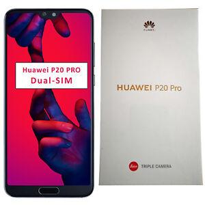 BNIB Huawei P20 Pro Dual-SIM 128GB Midnight Blue Factory Unlocked 4G/LTE GSM
