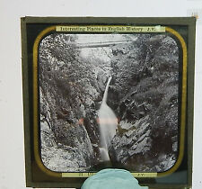 Glass Magic lantern slide Ulleswater Aira Force   /big auction