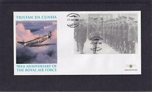Tristan da Cunha 2008 RAF Royal Air Force MS Miniature Sheet First Day Cover FDC