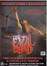 THE EVIL DEAD Bruce Campbell DVD R4 - PAL