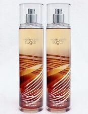 2 Bath & Body Works WARM VANILLA SUGAR Fine Fragrance Body Mist Spray