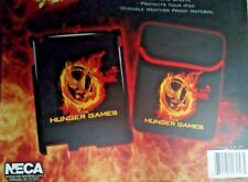 NECA The HUNGER GAMES Case for Ipad 2 & New Ipad Shell & Sleeve Burning Pin NIB