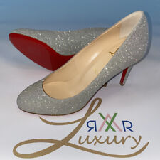 Christian Louboutin Pumps Ladies Fifille 85 Glitter Sunset Shoes Size 39