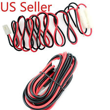 DC Power Cable T Shape for Radio YAESU FT-1802M FT-1807M FT-7800R FT-8800R