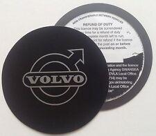 Magnetic Tax disc holder fits volvo v50 v70 s40 s60 c30 xc90 s80 v40 v60 v90 mpv