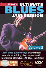 Ultimate Blues Jam Session Volume 3 Lick Library DVD NEW 000393040