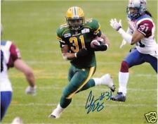 Calvin McCarty CFL Signed Photo Edmonton Eskimos