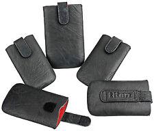 Universal Handy Tasche Titan Cover Case Etui Schwarz für  LG P970 Optimus Black