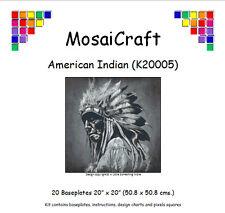 MosaiCraft Pixel Loisirs créatifs Mosaïque Kit 'Américain Indien' Pixelhobby
