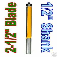 "1 pc 1/2"" SH 2-1/2"" Extra Long Flush Trim Router Bit sct-888"