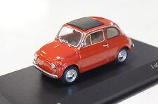 Fiat 500 1965 rouge 1:43 Minichamps NOUVEAU & NEUF dans sa boîte 400121602
