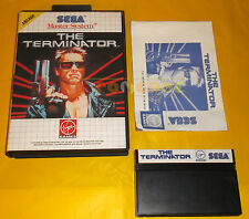 THE TERMINATOR Sega Master System Versione Europea PAL ○○○○○ COMPLETO AH