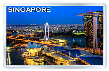 SINGAPORE MOD6 FRIDGE MAGNET SOUVENIR IMAN NEVERA