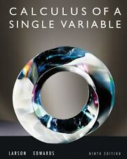 Calculus Of A Single Variable by Ron Larson