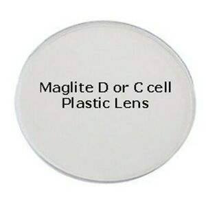 MAGLITE Lens, D or C Cell Clear Genuine Spare Part 108-000-031