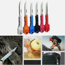 Outdoor Survival Pocket Folding Key Shape Mini Key Chain Knife Portable Camping*