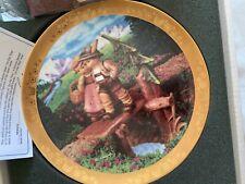 "Hummel Century Plate ""On Our Way"" Danbury Mint w/ 23Kt Gold Trim"