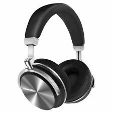 Bluedio T4S Noise Cancelling Wireless Bluetooth 4.2 Headphone Mic-Headsets/Black