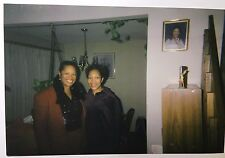 Vintage PHOTO Two African American Women Standing Together