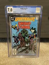 Swamp Thing #50 CGC 7.0 1st Appearance Of Justice League Dark!