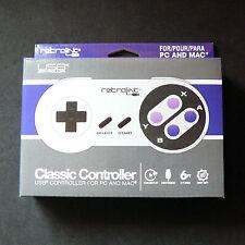 Retrolink SNES SUPER NINTENDO PC MAC USB CONTROLLER retrobit Gamepad Joystick