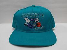 CHARLOTTE HORNETS 1990'S hat cap VINTAGE SNAPBACK The G Cap Baseball hat