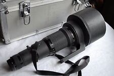 Nikon NIKKOR ED 600mm f/4, AI-S, Valigia CT 601