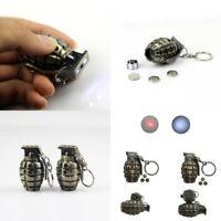Creative Metal Keyfob Gift Car Keyring Keychain Key Chain-Ring Led Light-Plastic