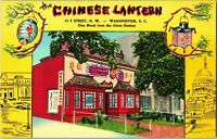 Vintage Postcard - The Chinese Lantern Restaurant, Washington DC