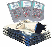 PackFreshUSA 25 Pack One Gallon Genuine Mylar Bags + 500cc Oxygen Absorbers