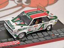 FIAT 131 ABARTH ALITALIA 1000 Lakes Rally 1979 1/43 SCALE MODEL ALTAYA