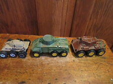 VTG Military Miniature Die Cast Equipment Car Tank Prowler Tootsie Toy Zylmex