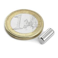 Super Magnete STOCK 20 Cilindri al Neodimio dimens. 5 x 10 mm Pot. 900 gr. LOTTO