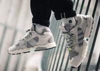 Adidas Originaux Hommes Zx Torsion Chaussures Streetwear Chaussures Gris
