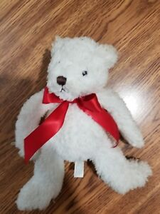 Bath & Body Works Teddy Bear Red Ribbon