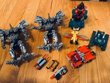 Transformers lot Slag G2 dinobot, two Grimlock Last Knights, five minicons