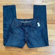 Gap Mens Jeans Blue 100% Cotton Straight Size 33 x 34 NEW