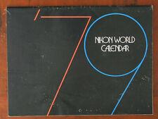 NIKON WORLD CALANDER, 1979/63190