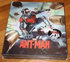 ANT-MAN - NovaMedia Lenticular Steelbook Blu-ray 3D + 2D / NEU & OVP