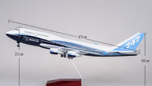 1/150 Scale Replica Airplane B747 Boeing 747-400 Aircraft Plane Model Toy