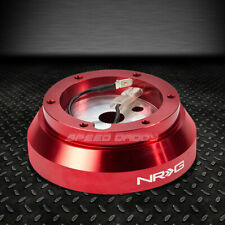 FOR NISSAN 240SX S13 S14 300ZX 200SX RED NRG STEERING WHEEL SHORT HUB ADAPTOR