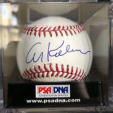 RARE Al Kaline Signed Major League Baseball Tigers HOF PSA/DNA 10 Auto 10 Ball