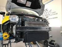 Wagner Front Mount Intercooler FMIC Kit  Fiat Abarth 500 1.4 Turbo 2008+ MANUAL