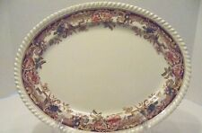 Vintage Johnson Brothers Devonshire platter 12'x 9.5""