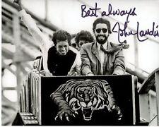 JOHN LANDIS signed autographed w/ MICHAEL JACKSON photo