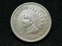 2021 SALE!!  XF+ 1881 INDIAN HEAD CENT PENNY w/ DIAMONDS & FULL LIBERTY #25!
