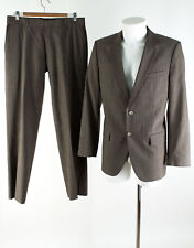 HUGO BOSS Anzug Gr. 48 Wolle Sakko Hose Business Suit Jacket Pants