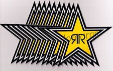 NEW (10) Rockstar Energy Star Decals Stickers LOT Official Authentic Merchandise
